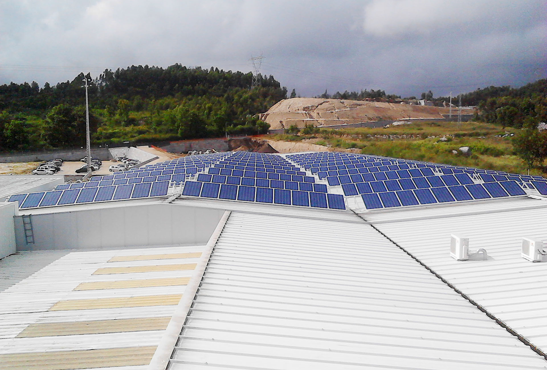 Kyaia Self Consumption PV Plant